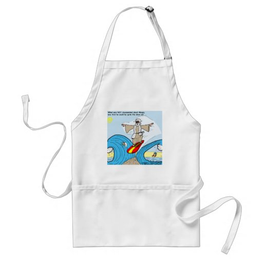 Moses Surfs Funny Cartoon Tees Gifts Collectibles Aprons