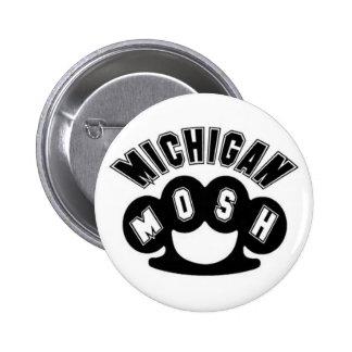 Mosh Knuckles Pinback Button