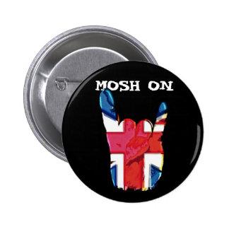 Mosh On Union Jack Corna Badges