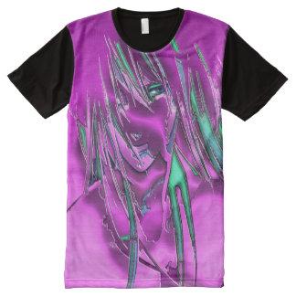 Moshi Girl Full Print Tshirt All-Over Print T-Shirt
