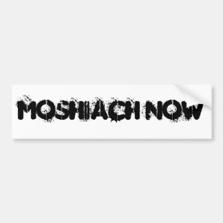 MOSHIACH NOW BUMPER STICKER