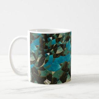 Mosiac Blue Mug