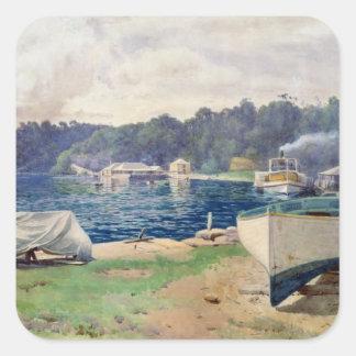 Mosman's Bay, Sydney Square Sticker