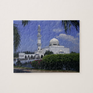 Mosque and tower, Singapore Puzzles