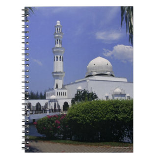 Mosque and tower, Singapore Spiral Notebook