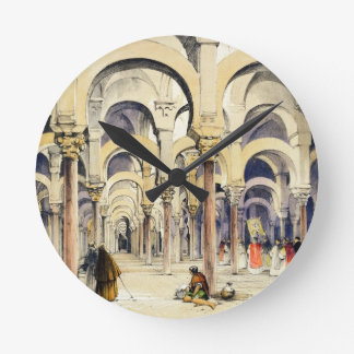 Mosque at Cordoba, from 'Sketches of Spain', engra Wallclocks