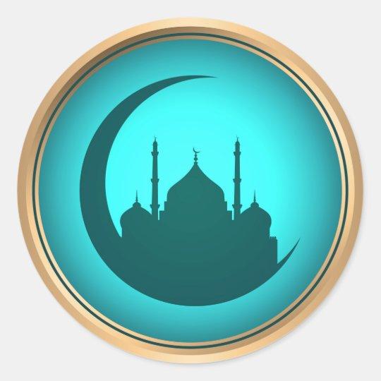 Mosque background sticker