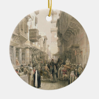"""Mosque El Mooristan, Cairo, from """"Egypt and Nubia"""" Christmas Ornament"""