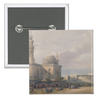 Mosque of Sultan Hasan from Great Square Rumeyleh Pinback Button