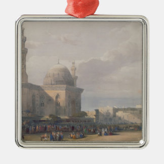 Mosque of Sultan Hasan from Great Square Rumeyleh Christmas Ornament
