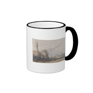 Mosque of Sultan Hasan from Great Square Rumeyleh Ringer Mug