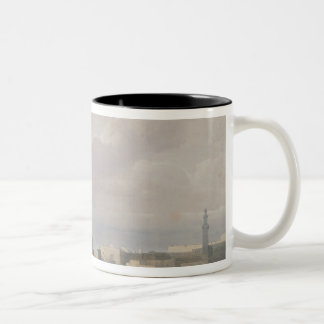 Mosque of Sultan Hasan from Great Square Rumeyleh Two-Tone Mug