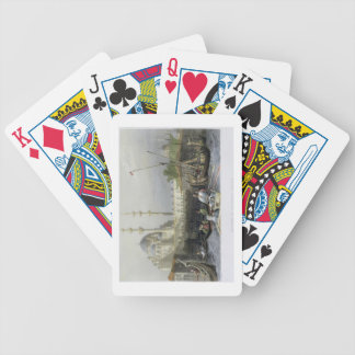 Mosque of Sultana Valide from the Port, engraved b Bicycle Playing Cards
