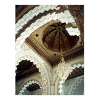 mosque roof postcard
