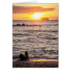 Mosquera Islet Sunset Card