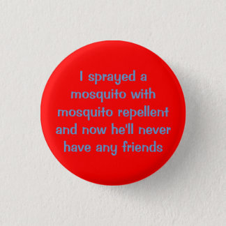 Mosquito 3 Cm Round Badge