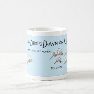 Mosquito attack coffee mug