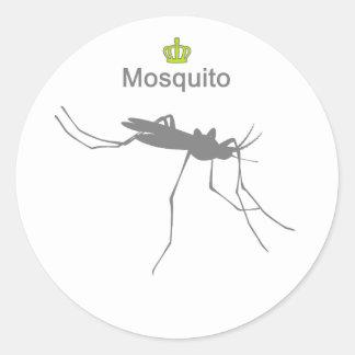 Mosquito g5 round sticker