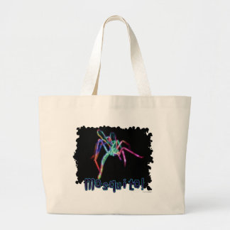 Mosquito! Large Tote Bag