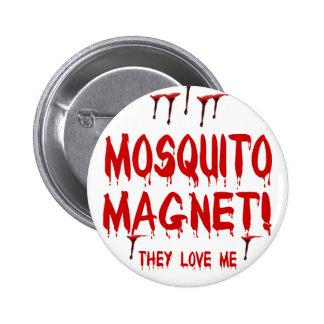 Mosquito Magnet 6 Cm Round Badge