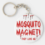 Mosquito Magnet Basic Round Button Key Ring