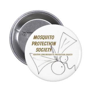 Mosquito Protection Society 6 Cm Round Badge