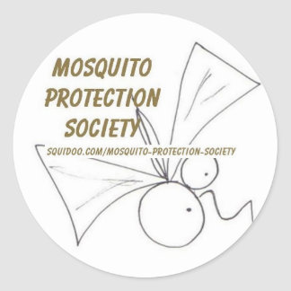 Mosquito Protection Society Stickers
