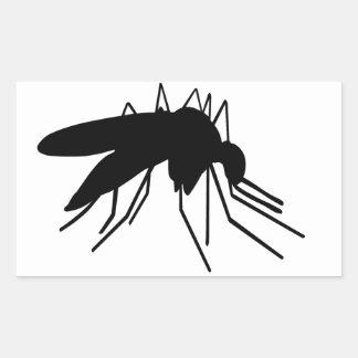 Mosquito Rectangular Sticker