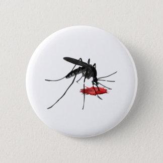 Mosquito Suck 6 Cm Round Badge
