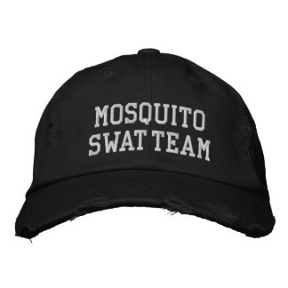 MOSQUITO SWAT TEAM HAT [Black] Embroidered Hat