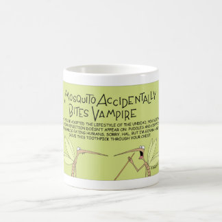 Mosquito vampire coffee mug
