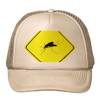 Mosquito Warning Sign Nuisance insect/bug pest Cap