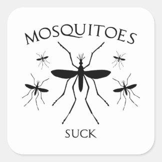 Mosquitoes Suck Square Sticker