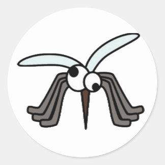 Mosquitoes - Sucks to Be You! Round Sticker