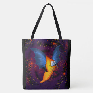 MOSQUITOS 2 ALIEN MONSTER ALIEN CARTOON TOTE BAG