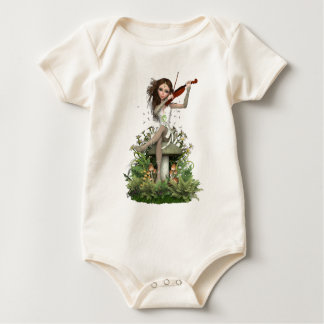Moss Agate Fairy ~ Melody Baby Bodysuit