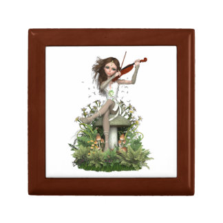Moss Agate Fairy ~ Melody Gift Box