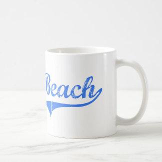 Moss Beach California Classic Design Basic White Mug