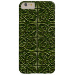 Moss Covered Stone Connected Ovals Celtic Pattern