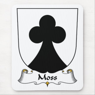 Moss Family Crest Mousepad
