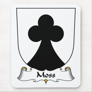 Moss Family Crest Mousepad