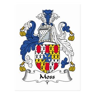 Moss Family Crest Postcard