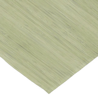 Moss Green Bamboo Wood Grain Look Short Table Runner