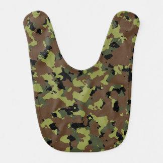 Moss Green Military Camo Bib