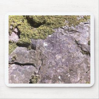 Moss growing on Australian granite in bush setting Mouse Pad