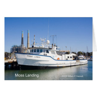 Moss Landing California Products Greeting Card