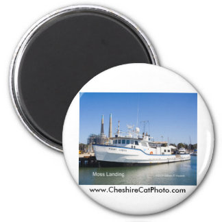 Moss Landing California Products Magnet