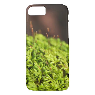 Moss Phone Case, Macro Nature Photography iPhone 8/7 Case