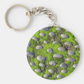 Moss & Stones key chain