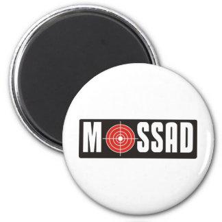 Mossad 6 Cm Round Magnet